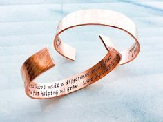 Thank You Gift Hostess gift handmade Custom Bracelet Cuff Metal Bracelets, Cuff Bracelets, Personalized Bracelets, Personalized Gifts, Daily Mantra, Thank You Gifts, Photo Jewelry, Hostess Gifts, Hand Stamped