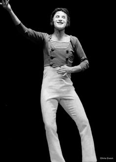 The last great mime.  Image scanned from 35mm negative