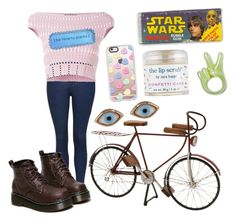 """Bike."" by reaganpops on Polyvore featuring Topshop, Alexander McQueen, Dot & Bo, Casetify, Sara Happ, Sydney Evan and WithChic"