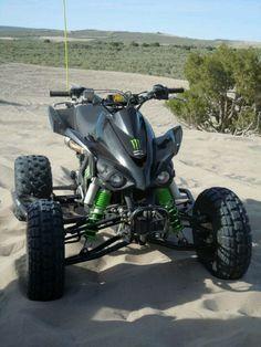 My baby: limited edition - Monster Energy Kawasaki KFX 450