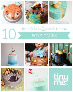 10 Brilliant Boys Cakes ~ Tinyme