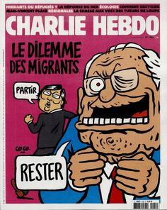 Charlie Hebdo - # 1206 - 2 Septembre 2015 - Couverture : Coco