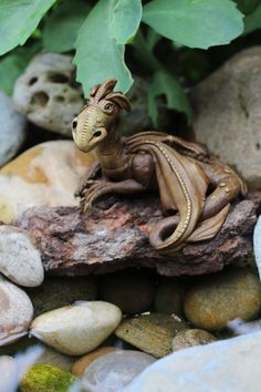 OOAK dragon sculpture by Feythcrafts on Etsy