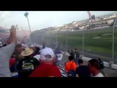 (Video) Fans Receives Tire Full Force During Horrible Accident at Daytona Nationwide Nascar Race 2-23-13