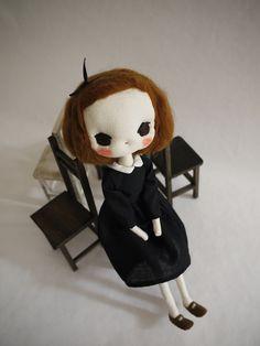 doll portrait - evangelione