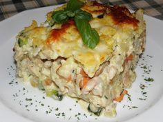 Karcsi főzdéje: Rakott karalábé, csirkehússal, zöldségekkel és kölessel