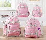 Mackenzie Pink Glitter Heart Backpacks