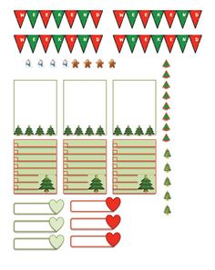 Decorate your planner for the holidays with all these cute holiday/Christmas themed stickers! Includes: - six boxes (3 of each) - 4 snowmen,