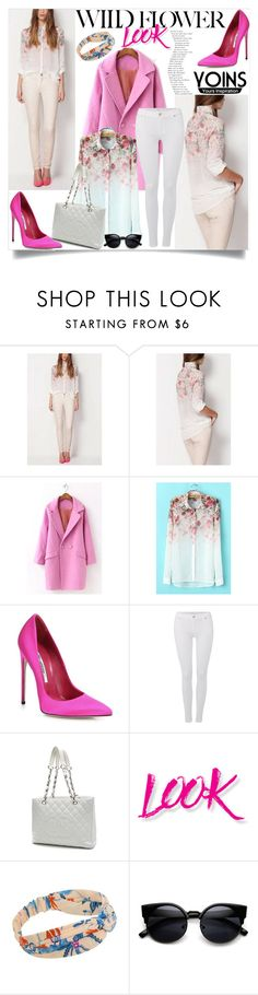"""""""Yoins contest"""" by sabina-94-cxx ❤ liked on Polyvore featuring Brian Atwood, 7 For All Mankind, Chanel, NYX and yoins"""