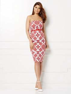 Shop Eva Mendes Collection - Calais Sheath Dress. Find your perfect size online at the best price at New York & Company.