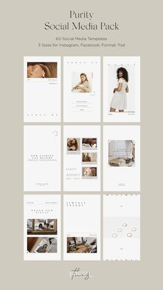 Discover recipes, home ideas, style inspiration and other ideas to try. Social Media Template, Social Media Design, Social Media Images, Web Design, Layout Design, Graphic Design, Website Design Inspiration, Layout Inspiration, Branding