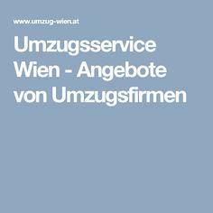 Umzugsservice Wien - Angebote von Umzugsfirmen Moving House Tips