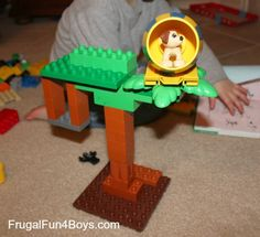 Lego Fun Friday:  Build Something from a Book