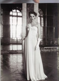 Madame Gres Evening Gown, photo by Frances McLaughlin-Gill