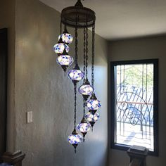 Your place to buy and sell all things handmade Hanging Lamp Shade, Hanging Ceiling Lights, Hanging Chandelier, Hanging Light Fixtures, Chandelier Shades, Ceiling Lamp, Chandelier Lighting, Chandeliers, Turkish Lanterns