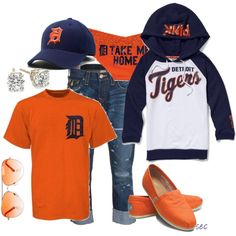 Detroit Tigers outfits