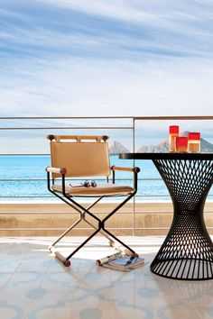 The Cape, a Thompson Hotel - Cabo San Lucas, Mexico - Private balconies are furnished with daybeds and binoculars — essential for whale watching.