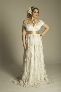 plus size lace wedding dresses | ... SPRING 2012 COLLECTION FOR PLUS SIZE FASHIONISTASStylish Dressing