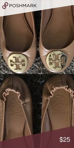 Tori Burch flats They are worn but still in good condition. Tory Burch Shoes Flats & Loafers