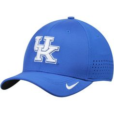 official photos d1094 953f4 Kentucky Wildcats Nike Sideline Vapor Coaches Performance Flex Hat - Royal