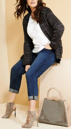 great plus size outfit