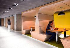 Small isolated areas for focused work or discussions. Sahibinden.com Office / Erginoğlu & Çalışlar Architects