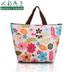 2017 Hot New Summer Lunch Bag Insulated Thermal Cooler Box Carry Tote Storage Travel Picnic Bag High Quality Free Shipping N562
