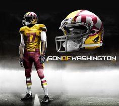 Redskins Pro Combat Extreme Uni
