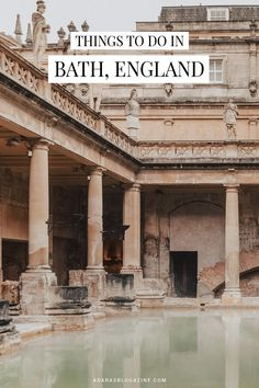 A Weekend in Bath, England: A 48 Hour Itinerary : Things to Do in Bath, England York Minster, London Tours, London Travel, Yorkshire Dales, Lake District, Places To Travel, Places To See, Highgate Cemetery, Bath Uk