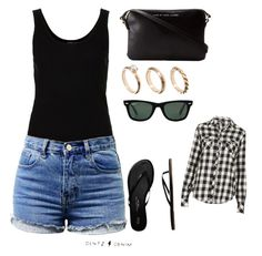 """Untitled #41"" by mkcorniel on Polyvore featuring Topshop, Gap, Marc by Marc Jacobs, ASOS and Ray-Ban"