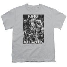 Youth JLA/King of Atlantis Short Sleeve