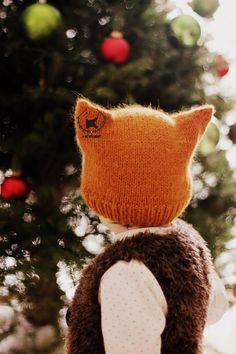 Patron de tricot bonnet FOXY & WOLFIE Tailles: Enfant et