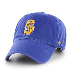 new styles 90d05 3b836 Seattle Mariners Clean Up Royal 47 Brand Adjustable Hat. Detroit GameClean  UpHats ...