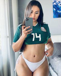 Soccer Girls, Sports Women, Bikinis, Swimwear, Curvy, Football, Lady, Healthy, Fitness