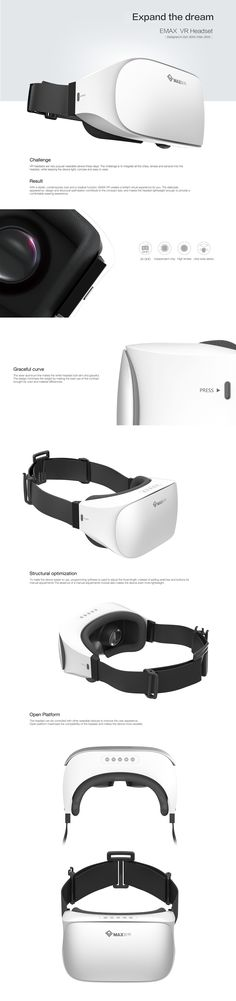 EMAX VR Headset on Behance