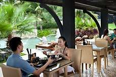 Sanya Luxury Hotel | Mandarin Oriental Hotel, Sanya. Hainan Island is a perfect place for those who are seeking luxury and the finer things in life. Learn more about Sanya  at http://en.trips.sanyatour.com/ ,  https://app.gotrips.net and you can even win a FREE TRIP to that gorgeous  island!   China , Sanya, Hainan, Travel and more #SanyaHeartstoHearts #campaign. Follow our guideline here:https://app.gotrips.net/