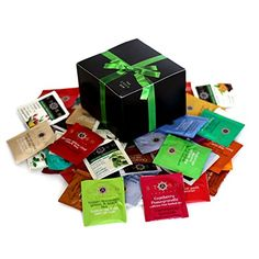 Greenbow Gift Box Organic Assortment Flavor Stash Tea Sampler (54 Count) * Learn more by visiting the image link.-It is an affiliate link to Amazon.
