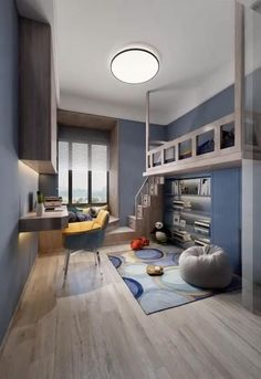 Small Room Design Bedroom, Small House Interior Design, Home Room Design, Home Decor Bedroom, Bedroom Furniture, Furniture Design, Room Decor, Interior Design Videos, Bedroom Office
