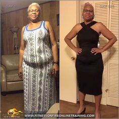 """62 year young Lucy Merritt lost 37 pounds naturally online with Fitness on Fire Online Training  Lucy Merritt was diagnosed with pre-diabetes which caused her to focus more on her health, especially since she is 62yrs young and she has a family history of diabetes and high blood pressure. She was inspired by a post she saw on Facebook in regards to an online training program named """"Fitness On Fire"""". Impressed by the transformations of real women & men which she could actually reach out to…"""