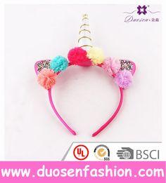 Pom Pom Rainbow Unicorn Ears Headband Valentines Gifts For Girls Unicorn Horn Hairband Lover Gift Birthday Gift Idea For Parents #unicorn #festival #unicorngift #bestgifts
