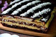 Delikatne, sernikowe, rozpływające się w ustach, tak można określić to ciasto, zachęceni? ... (uhm). To p rawidłowo :))) ... Cooking Cake, Something Sweet, Holidays And Events, Yummy Cakes, Tiramisu, Recipies, Cheesecake, Food And Drink, Sweets