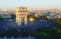 #arcdetriomphe #paris #france  Vue sans la grue 😊