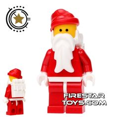 LEGO Christmas Minifigure - Father Christmas White Backpack Lego Christmas 4d598deff