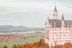 Viagem com amigos no Castelo Neuschwanstein na Alemanha.