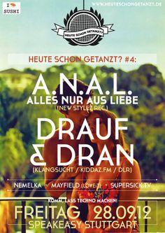 A.N.A.L DRAUF & DRAN