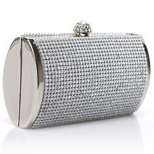 Us Luxury Silver Rhinestone Evening Wedding Party Clutch Purse Prom Bag Shoulder The Perfect Touch For That Little Black Dress Found Mine At Sam Moons