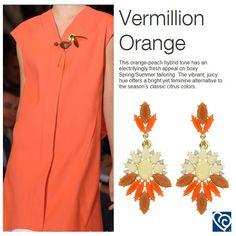 #Bijoux della linea #Exploria nel tono Vermillion Orange. Cerca il tuo colore sullo shop www.barbiericreazioni.it