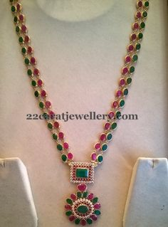 Light Weight Two Layer Necklace | Jewellery Designs