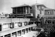 Imperial Hotel. FLW. Tokyo. 1916.