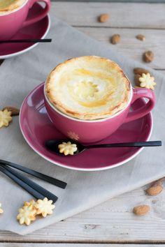 Süßer Tassenpie mit Vanillepudding und Mandeln von den [Foosistas]